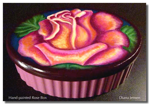Design Choice Communications Portfolio: Decorative Rose Box © 2006